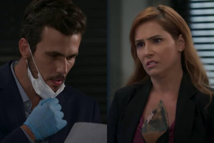 Salve-se Quem Puder: Alexia 'psicografa' carta de Kyra e deixa Rafael impressionado