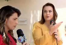 Jornalista da Globo e repórter do SBT - Reprodução/SBT