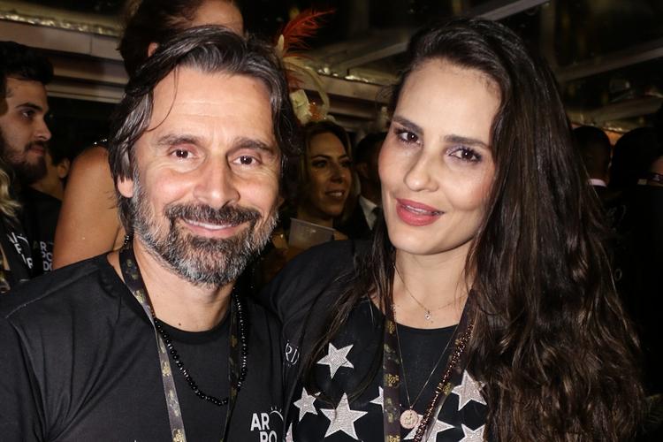 Murilo Rosa e a esposa, Fernanda Tavares - Lucas Ramos / AgNews