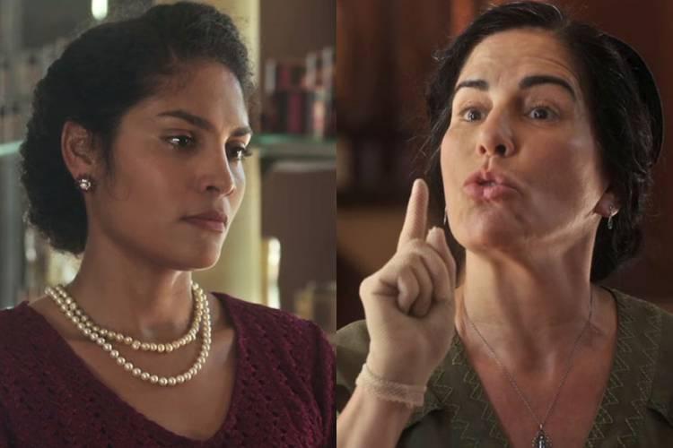 """Éramos Seis: Lola bate boca com Shirley: """"Tenho mais o que fazer!"""""""
