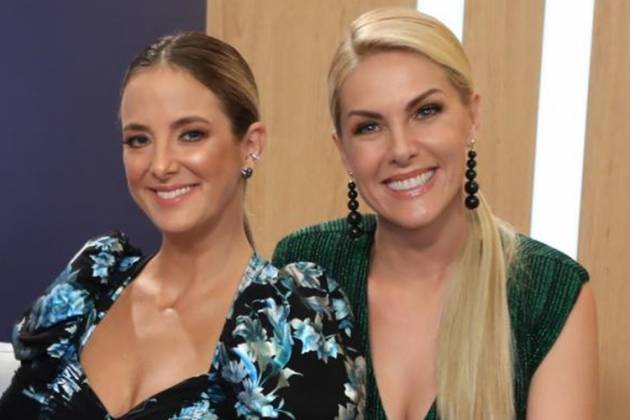 Ticiane Pinheiro e Ana Hickmann (Antonio Chahestian/RecordTV)