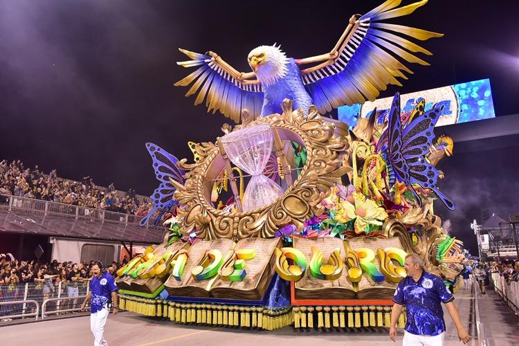 Pela primeira vez, Águia de Ouro é a campeã do Carnaval de São Paulo