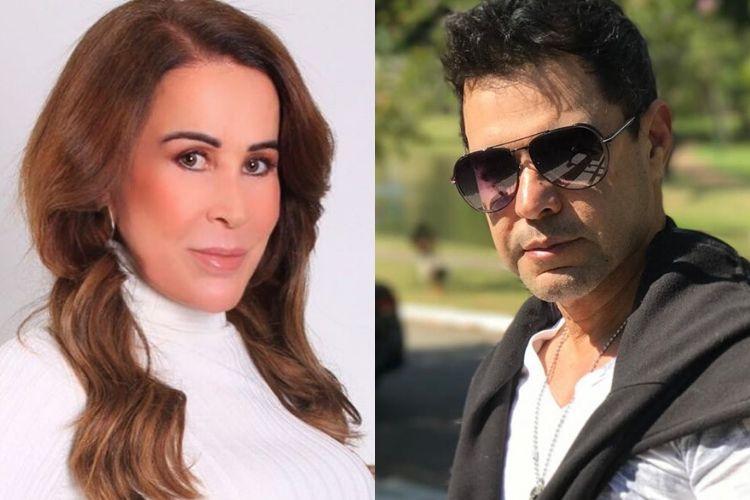 Zilu revela como está a sua relação com o sertanejo Zezé di Camargo após processo polêmico