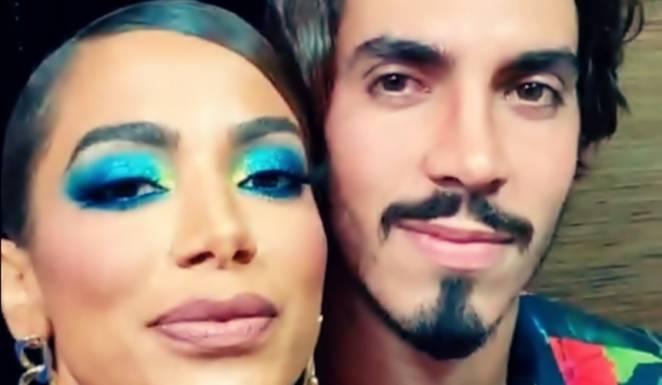 Anitta e Gabriel David (Foto: Reprodução/ Instagram)