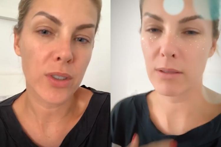 "Ana Hickmann com suspeita de coronavírus se isola: ""Estou em estado gripal forte"""