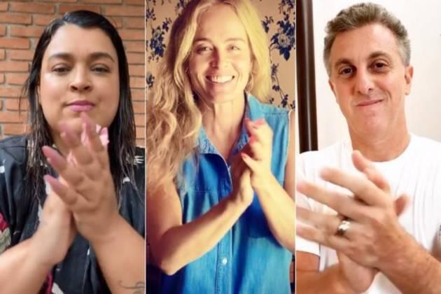 Preta Gil, Angélica e Luciano Huck (Foto: Reprodução/Instagram)