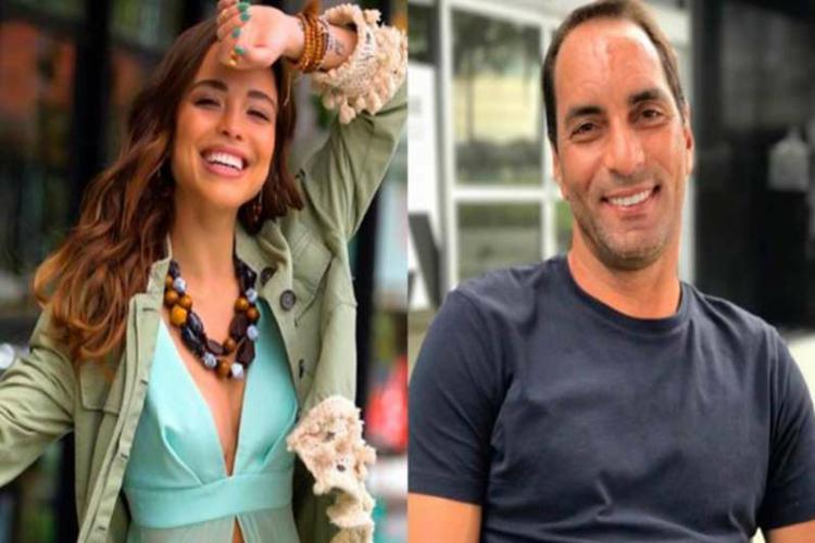 Modelo assume namoro com Edmundo: 'Não sabia que era jogador'