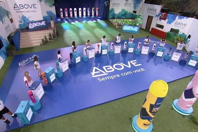 BBB20 - Prova do Líder Above (Reprodução/TV Globo)
