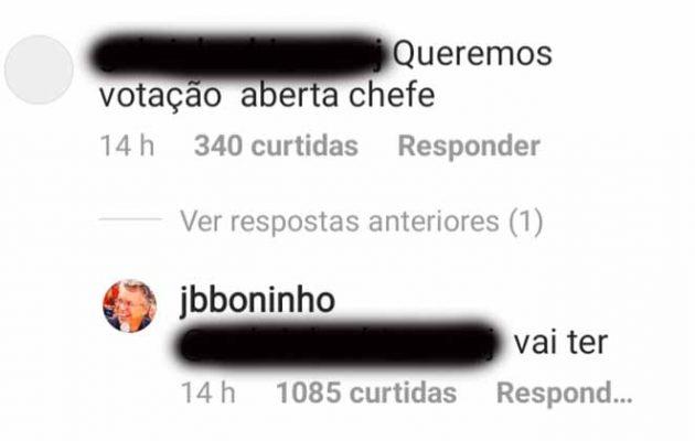 Foto: Reprodução/ Instagram @jbboninho