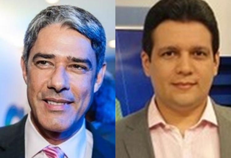 William Bonner comemora melhoras do jornalista Marcelo Magno, internado com coronavírus