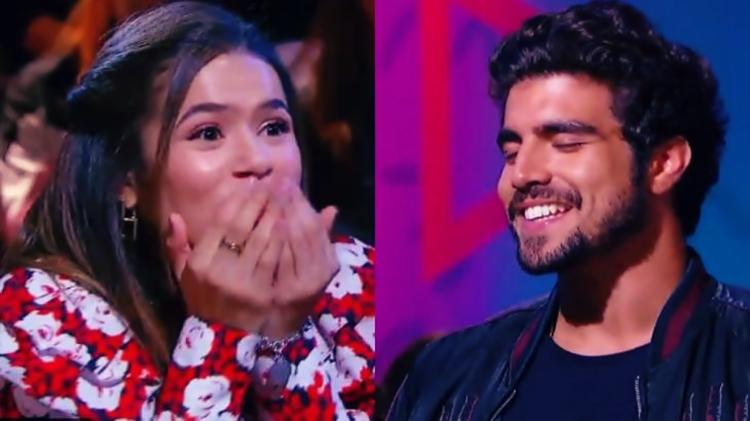 """Caio Castro revela que beijou atriz com mal hálito: """"Ofereci balas"""""""