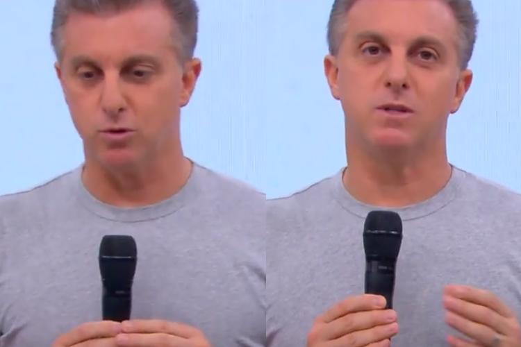No 'Caldeirão', Luciano Huck revela situação nos bastidores da Globo durante isolamento