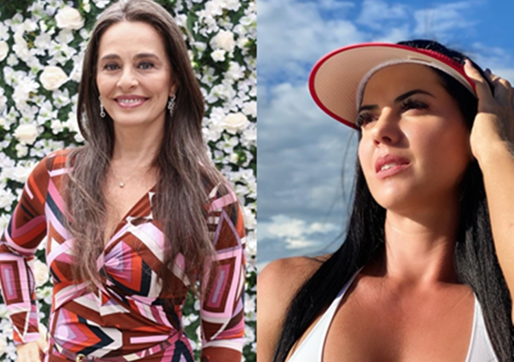 Carla Vilhena cutuca noiva de Zezé Di Camargo depois de vídeo sobre suposta crise financeira
