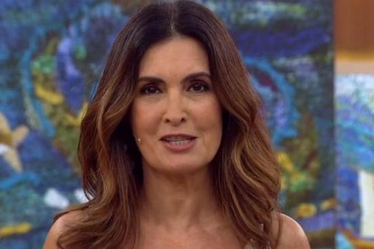Ao vivo, Fátima Bernardes lamenta estúdio vazio pela primeira vez devido coronavírus