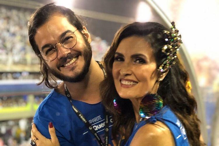 Fátima Bernardes comenta relação à distância com Túlio Gadelha