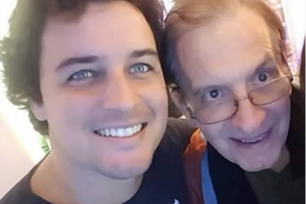 Felipe Dylon e Claúdio Gardin reprodução isntagram