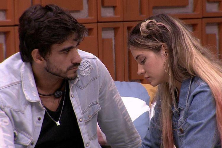 Guilherme Napolitano e Gabi Martins, do 'BBB 20' - Reprodução: Globoplay
