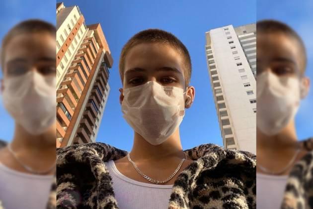 Filho do sertanejo Leonardo, João Guilherme 'ignora' quarentena e se arrisca - Reprodução/Instagram