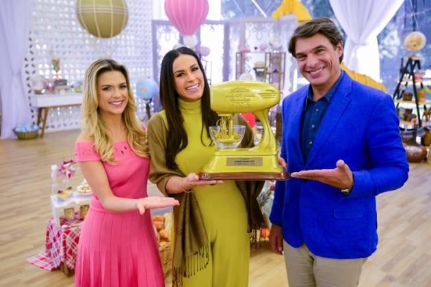 Junior Bake Off - Beca - Nadja - Oliver (Zé Paulo Cardeal/SBT)
