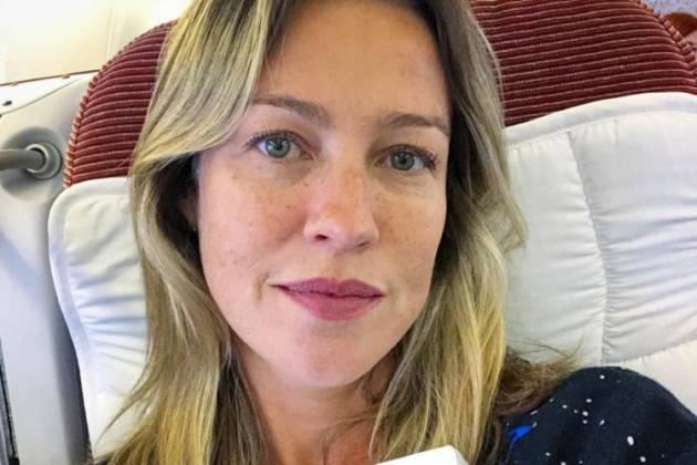 Luana Piovani diz que está 'presa' em Lisboa devido à coronavírus