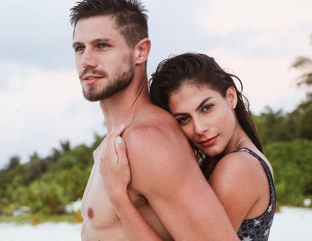 Mari Gonzalez e Jonas Sulzbach (Foto: Reprodução)