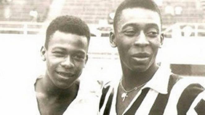 Pelé e o irmão