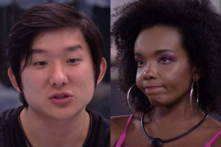"""BBB20: Pyong aconselha Thelma sobre imunizar Babu: """"É a opção de voto de todo mundo"""""""