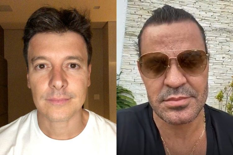 Após ser detonado por Eduardo Costa, Rodrigo Faro dispara indireta