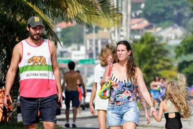 Thiago Lacerda e Vanessa Lóes foto Dilson Silva