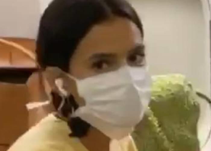 Vídeo! Bruna Marquezine deixa Nova Iorque após ameaça de Coronavírus