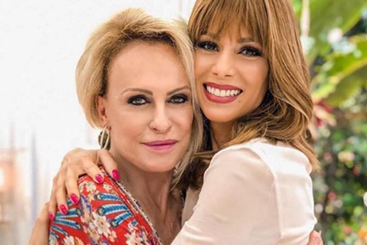 Ana Furtado emociona ao parabenizar Ana Maria Braga no dia do aniversário da apresentadora