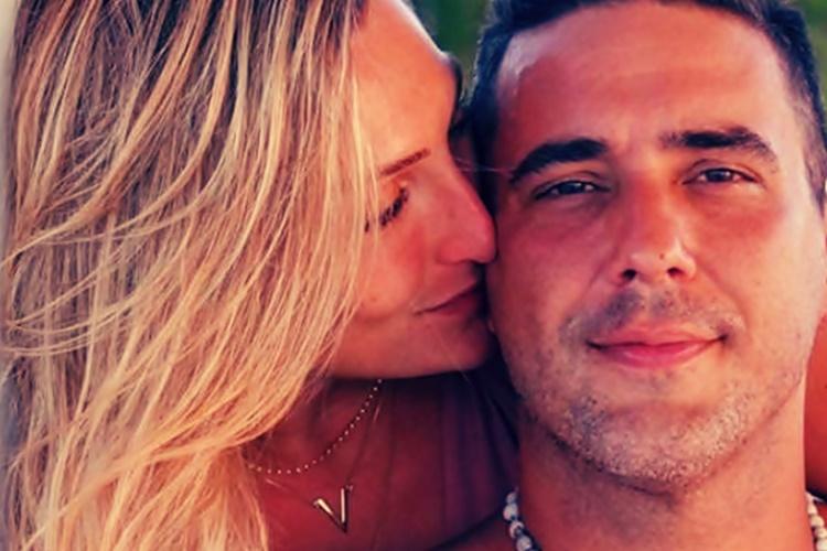 André Marques recebe declaração de amor da namorada no Instagram