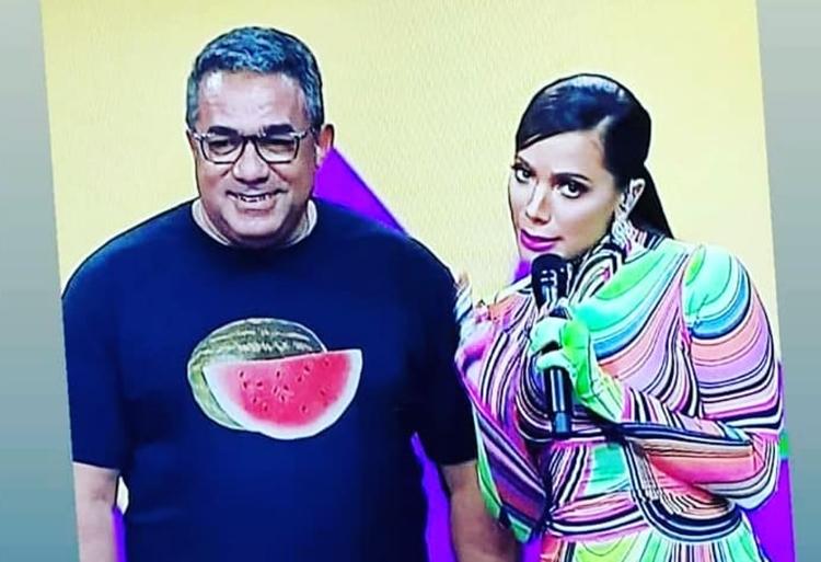 Em programa de culinária, Painitto entrega dotes de Anitta na cozinha