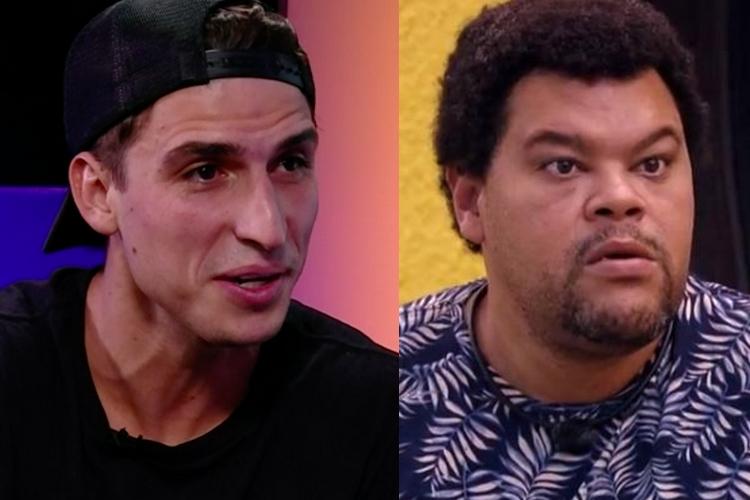 Eliminado do 'BBB20', Felipe Prior entrega situação após intriga com Babu Santana