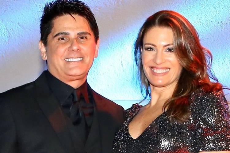 Cesar Filho e Elaine Mickely completam 20 anos de casados e trocam declarações
