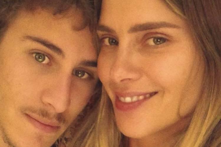 """Carolina Dieckmann encanta com homenagem ao filho: """"O mundo parou um infinito"""""""
