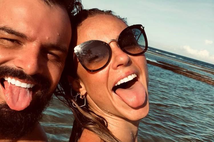 """Paolla Oliveira ganha declaração do namorado no dia do seu aniversário: """"Meu amor"""""""