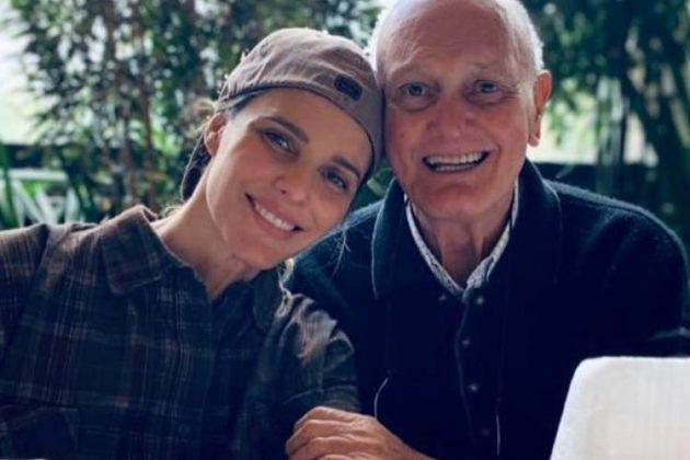 Pai da apresentadora Fernanda Lima está com coronavírus