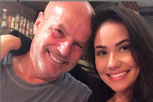 Jayme Monjardim e namorada Anne reprodução Instagram