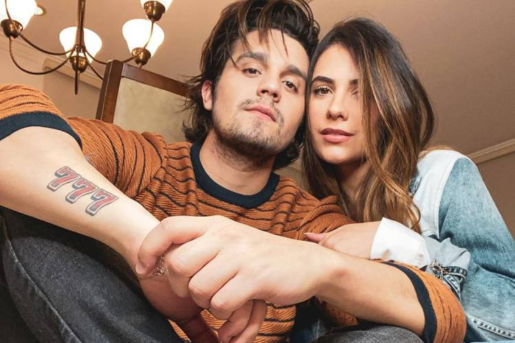 Luan Santana e Jade Magalhães / Instagram