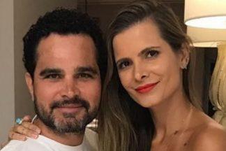 Sertanejo Luciano Camargo e a esposa, Flávia - Reprodução/Instagram