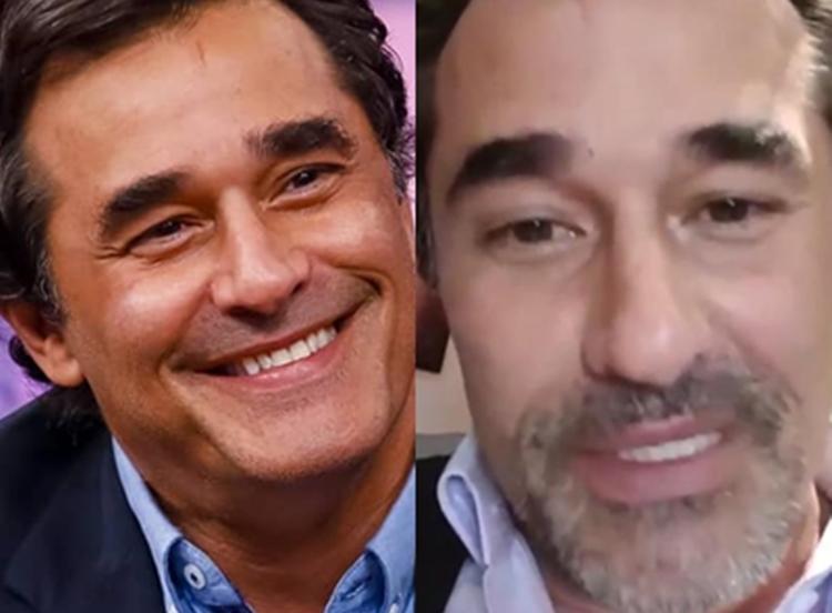 Luciano Szafir perdeu peso após grave problema de saúde