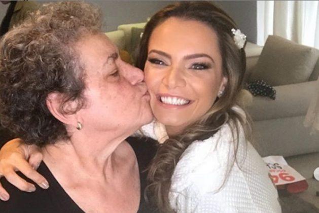 Milena Toscano e sua mãe reprodução Instagram
