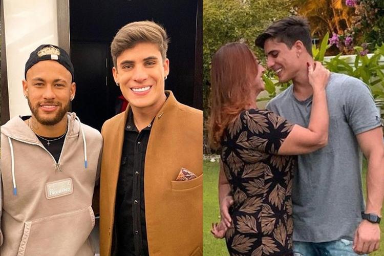 Novo namorado da mãe de Neymar possui tatuagem íntima em homenagem ao jogador