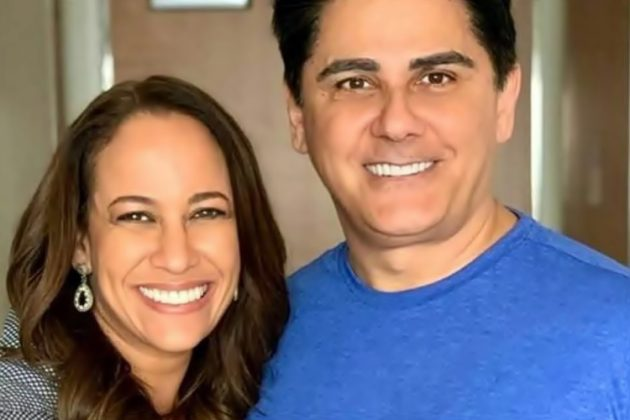 Renata Alves e César Filho (Reprodução/TV Globo).