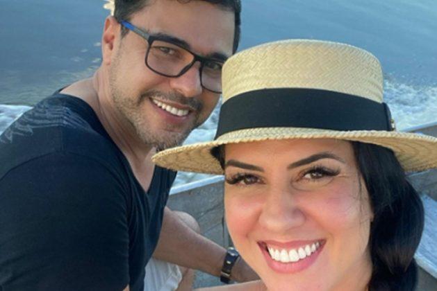Sertanejo Zezé Di Camargo e Graciele Lacerda reprodução Instagram