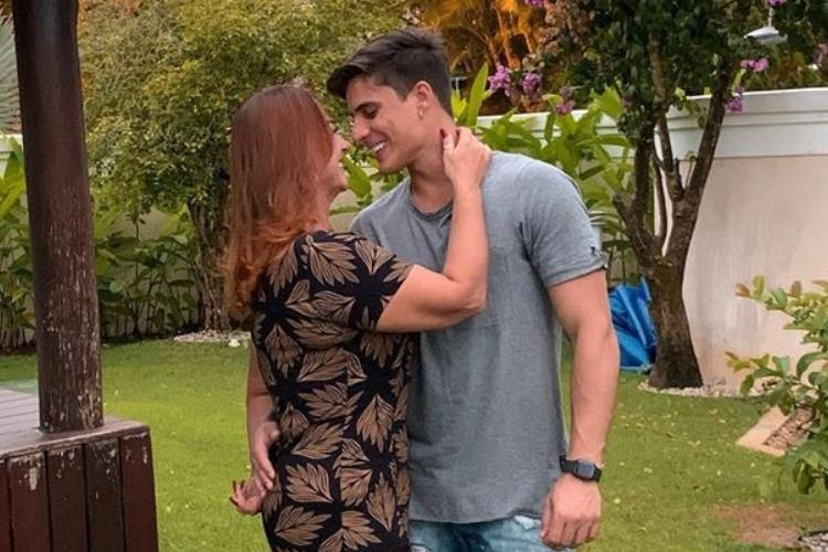 Tiago Ramose e mãe de Neymar, Nadine - Reprodução/Instagram