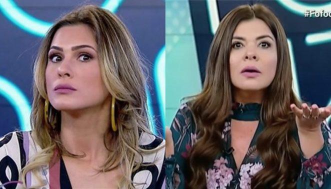 Lívia Andrade e Mara Maravilha são afastadas do programa - (Foto: Reprodução/SBT)