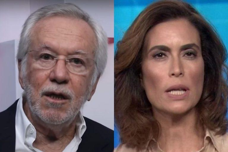 """Alexandre Garcia volta a disparar contra Giuliana Morrone: """"As máscaras caem"""""""