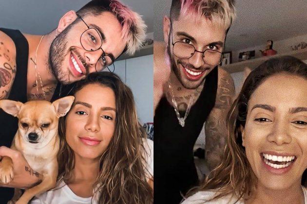 """Anitta fala sobre relacionamento com Gui Araújo: """"Cada um para sua casa"""""""
